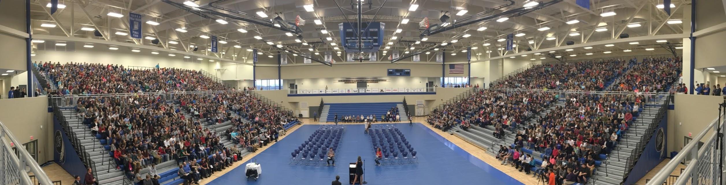Lake Central High School gymnasium