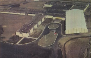 Ariel photo of Lake Central in 1967