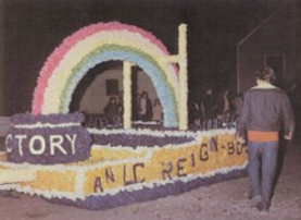 Parade float from the class of 1975